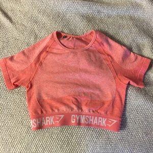 Pink Gymshark Crop Top
